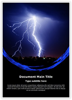 Lightning Editable Word Template