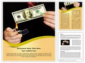 Money Deficiency Editable Word Template