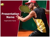 Tennis Player PowerPoint Templates