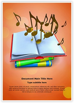 Music Theory Editable Word Template