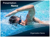 Swimming Athlete PowerPoint Templates