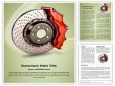 Disk Brake Template