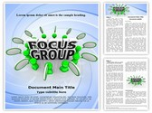Focus Group Editable Word Template