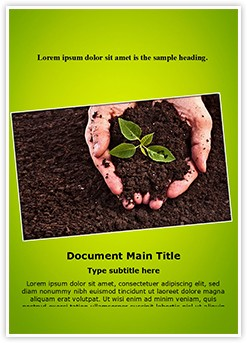 Soil Editable Word Template