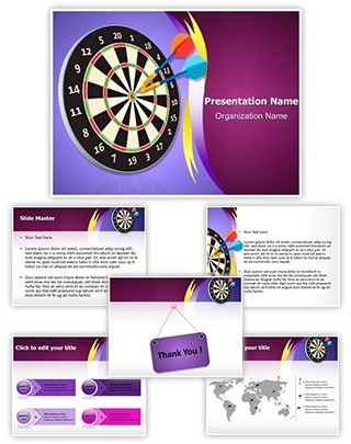 Darting Editable PowerPoint Template