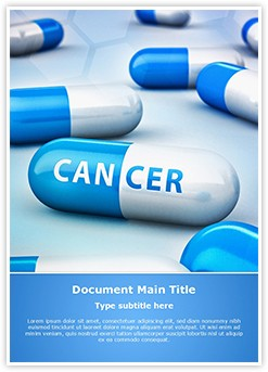Cancer Treatment Medicine Editable Word Template