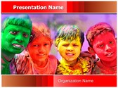 Indian Holi Celebration Template