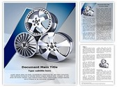 Wheel Alloy Template