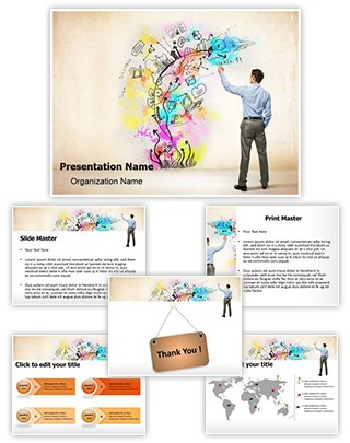 Creative Thinking Editable PowerPoint Template