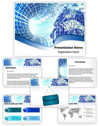 Binary Way Editable PowerPoint Template