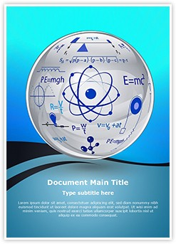 Physics Editable Word Template
