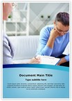 Psychology Therapy Word Templates