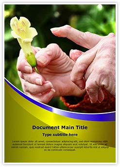 Rheumatoid Arthritis Editable Word Template