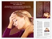 Head Neck Pain Editable Word Template