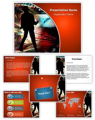 Michael Jackson Editable PowerPoint Template