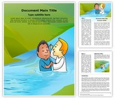 Baptismal Immersion Editable Word Template