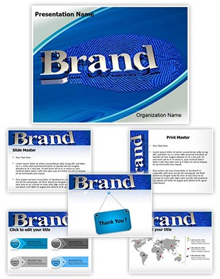 Brand Identity Editable PowerPoint Template