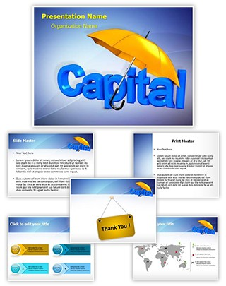 Capital Development Editable PowerPoint Template