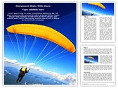 Paragliding Template