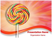 Spiral Lollipop PowerPoint Templates