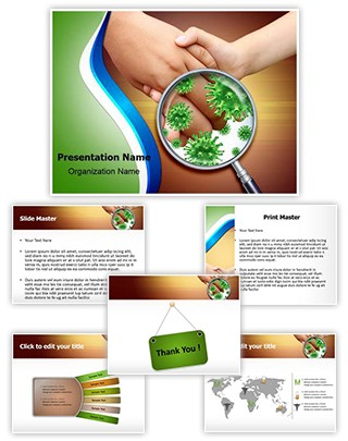 Contagious Virus Infection Editable PowerPoint Template
