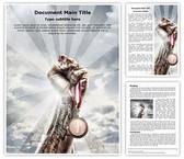 Olympic Medal Editable Word Template