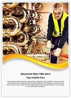 Pipeline Craftsman Editable Word Template