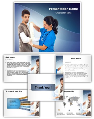 Orthopaedic Surgeon Editable PowerPoint Template