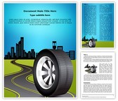 Automobile and Transportation Editable Word Template