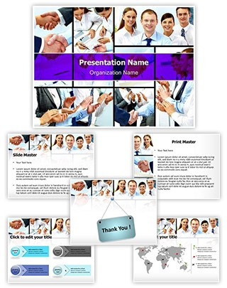 Corporate Editable PowerPoint Template