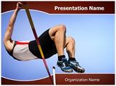 High Jump Editable PowerPoint Template