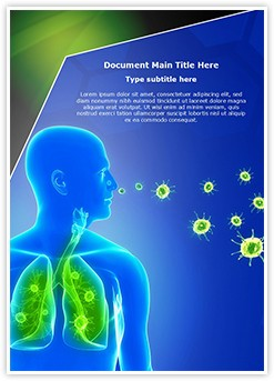 lung infection Editable Word Template