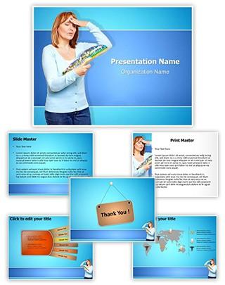 Menopausal Complaints Editable PowerPoint Template