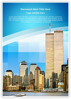 World Trade Center Editable Word Template