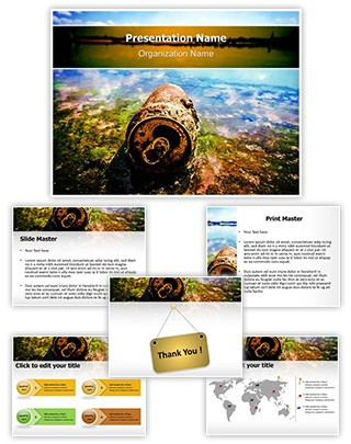 Water Pollution Editable PowerPoint Template
