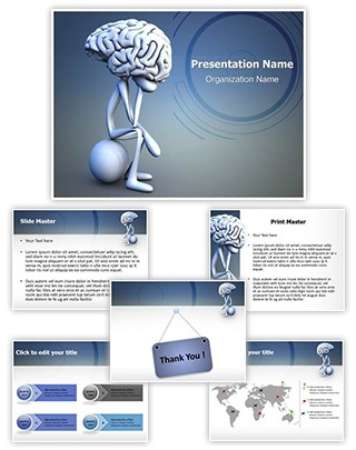 Emotional Intelligence Concept Editable PowerPoint Template