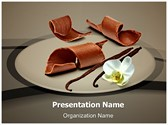 Chocolate Vanilla Editable PowerPoint Template