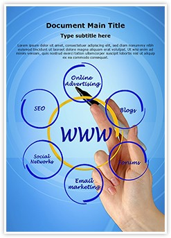 Online Advertising Editable Word Template