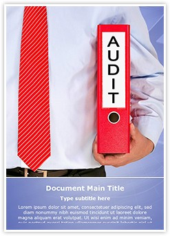 Accounting Standard Editable Word Template