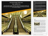 Escalator Editable Word Template