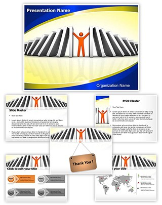 Conflict Management Editable PowerPoint Template