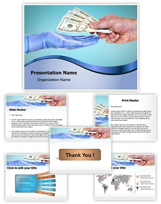 Doctor Medical Fees Editable PowerPoint Template