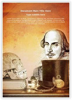 William Shakespeare Plays Editable Word Template