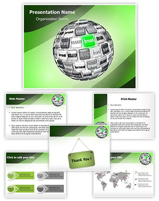 Brand Awareness Editable PowerPoint Template