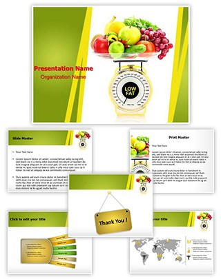 Nutritious Food Editable PowerPoint Template