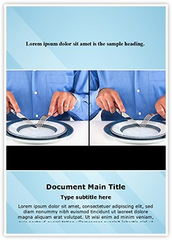 Table Manners Etiquette Editable Word Template
