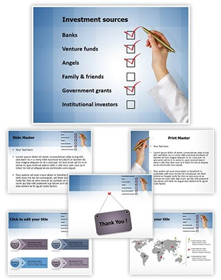 Investment Sources Editable PowerPoint Template