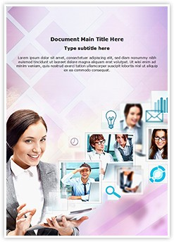 Team Communication Editable Word Template
