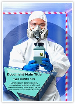 Infection Control Editable Word Template