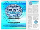 International Marketing Concept Template